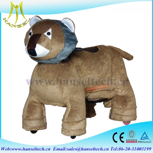 Hansel amusement rides on animal toy animal robot rides for sale