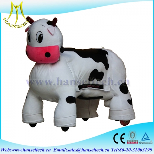 Hansel shopping mall walking ride on animal toy animal robot rides for sale