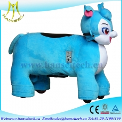 Hansel Hot in USA motorized plush riding animals for children