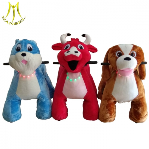 Hansel low price battery ride on animals and electrical animal toys wholesale with manufacture children animal ride price list
