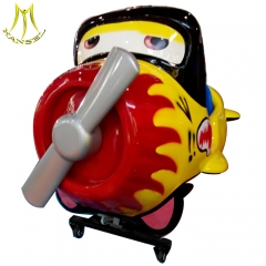 Hansel  hot selling coin operated amusment park kiddie rides machine glass game token guangzhou