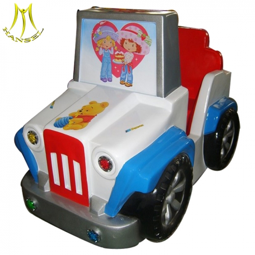 Hansel  fun easy indoor games for kids attractive coin operated kiddie ride for sale