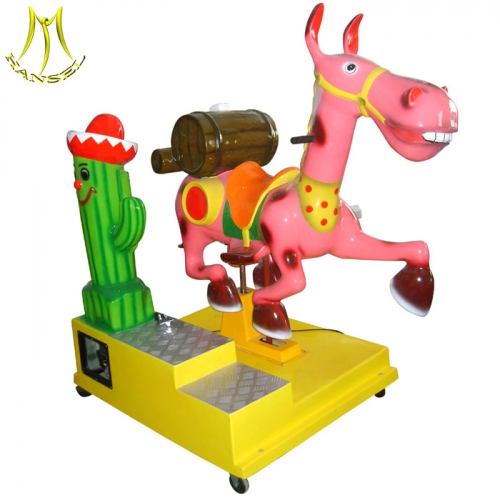 Hansel  amusement park equipments for children and kiddie ride fiberglass toys with kiddie ride control box