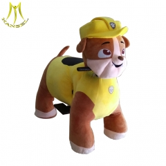 Hansel plush animal electric scooter kids ride on electric animal cars toy for wholesale